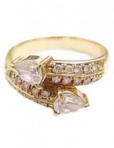 指輪 ダイア付きリング