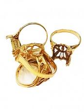 18金 指輪(リング)買取 (k18 18k 750)