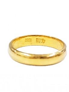 指輪 24金 k24 24kの指輪(甲丸指輪)