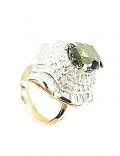アレキサンドライト付プラチナ指輪