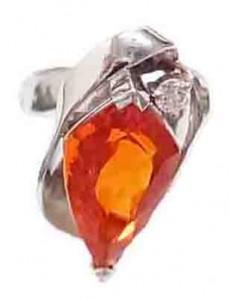 指輪 色石付きリング