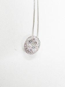 貴金属 プラチナ ダイヤ付き ネックレス 高価買取 高価査定