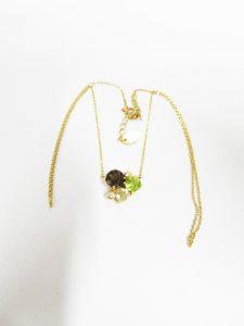 4℃ ダイヤ 色石付き ネックレス 高価買取 高価査定