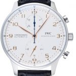 高価買取 高価査定したIWC ポルトギーゼ クロノグラフの時計