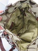 バッグ内部の状態を確認