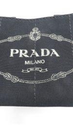 今回買取いたしましたプラダ カナパ トートバッグ ブランドロゴ