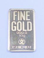 石福製純金ゴールドバー