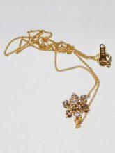 ダイヤモンド付き18金ネックレスを高価買取