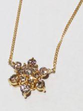 K18ダイヤモンド付きネックレスを買取