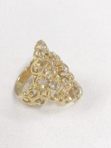 750 リング ダイヤモンド 買取