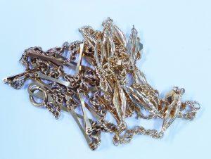 今回高価買取致しました貴金属 金 プラチナ