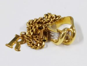 高価買取した貴金属 リング ネックレス