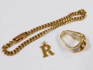 高価買取した 貴金属 ネックレス リング ペンダント