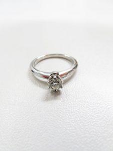 ティファニーのダイヤモンド指輪の買取査定