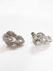 プラチナのイヤリングを高価買取