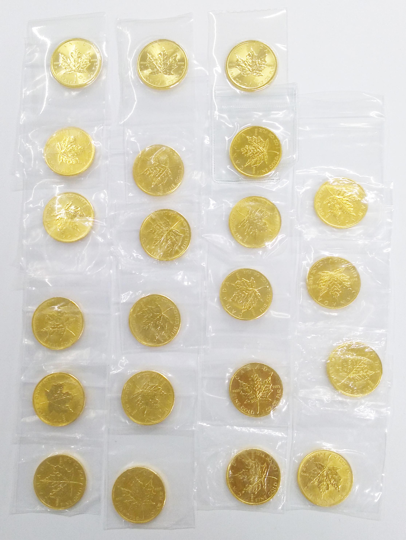 メイプルリーフ金貨の高額買取