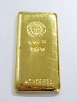 純金の延べ棒高価買取