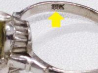 偽物K18指輪