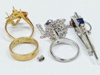 18金指輪、プラチナネックレス買取