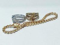 ダイヤ付き18金指輪、プラチナ900指輪買取