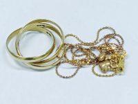18金指輪、ネックレス高価買取