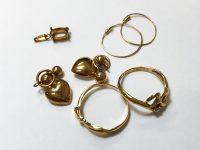 18金指輪、ペンダントトップ高価買取