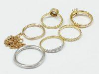 刻印のない指輪、10金(K10)ネックレス、プラチナ指輪を高価買取