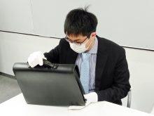 コロナ感染予防でマスク着用
