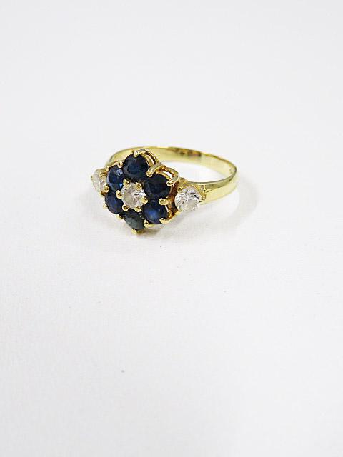 指輪 買取 ダイヤ サファイア