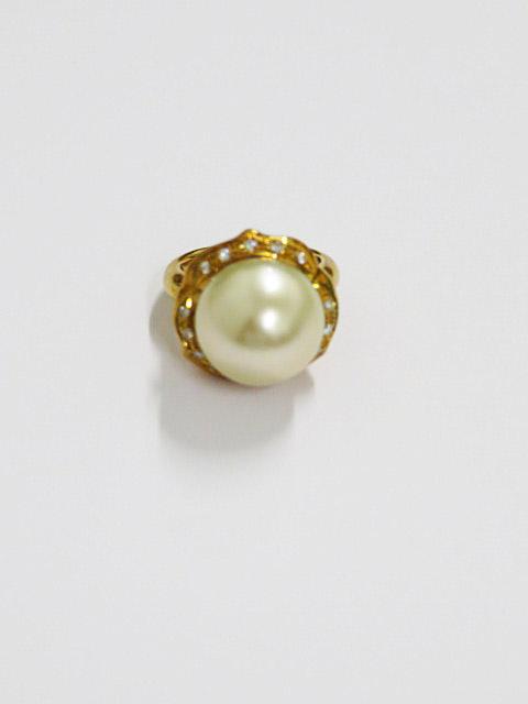 真珠 指輪 金 買取