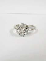 プラチナのダイヤ付きリング買取