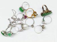 遺品整理の指輪高価買取