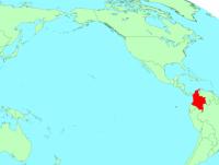 コロムビアの地図