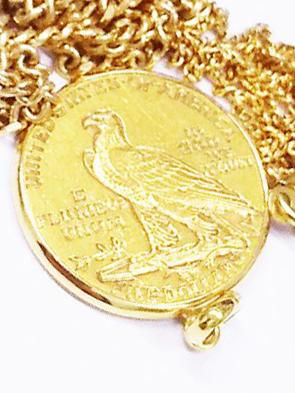 インディアンのコイン