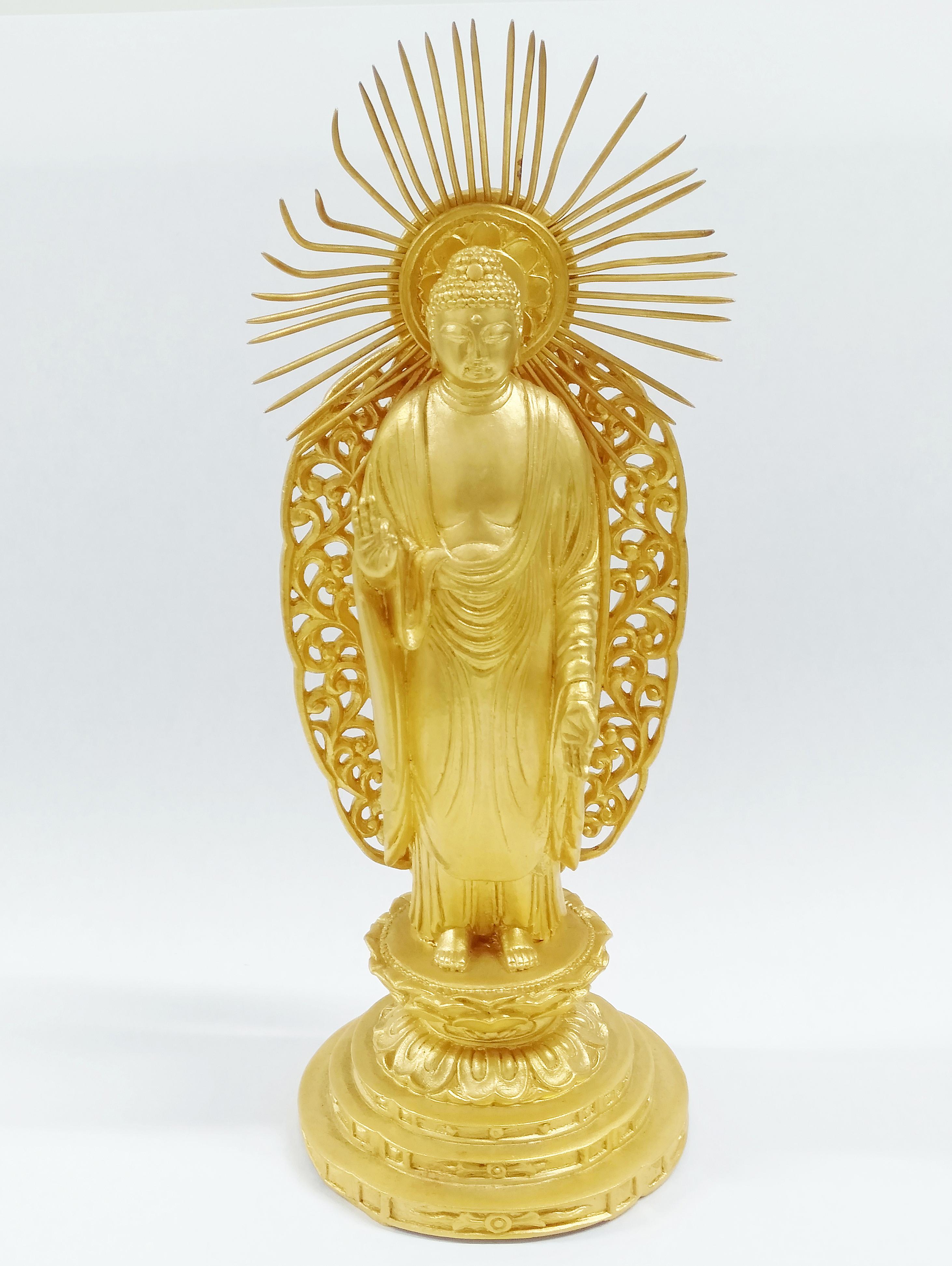 純金の仏像を買取