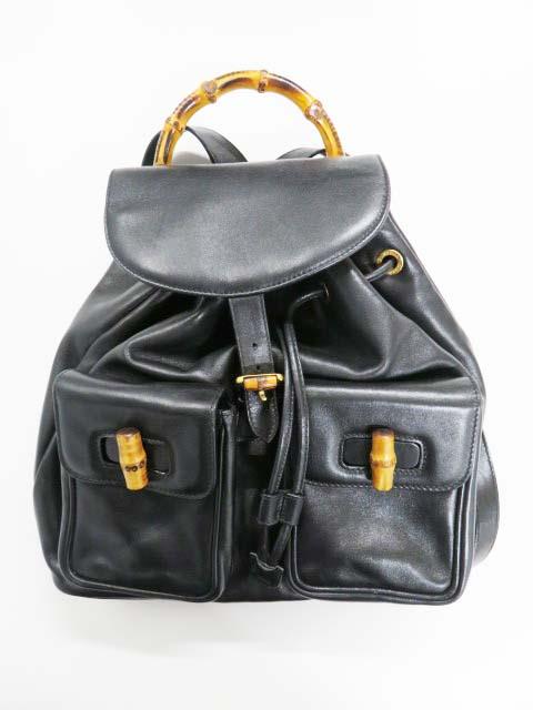 グッチ(GUCCI)のバッグを高価買取 グッチ バンブーのリュックを高価買取しました!