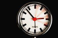 クォーツ式の時計