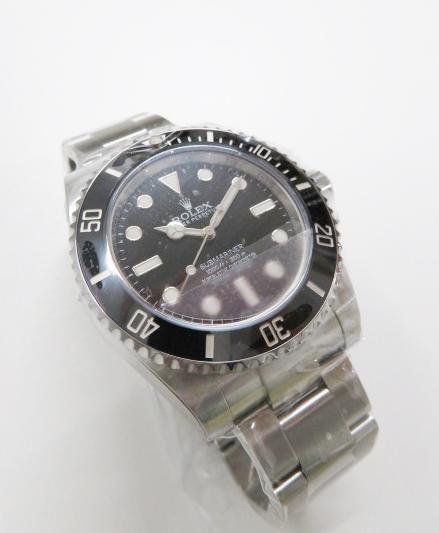高価買取したロレックスのサブマリーナ ノンデイト114060型の時計