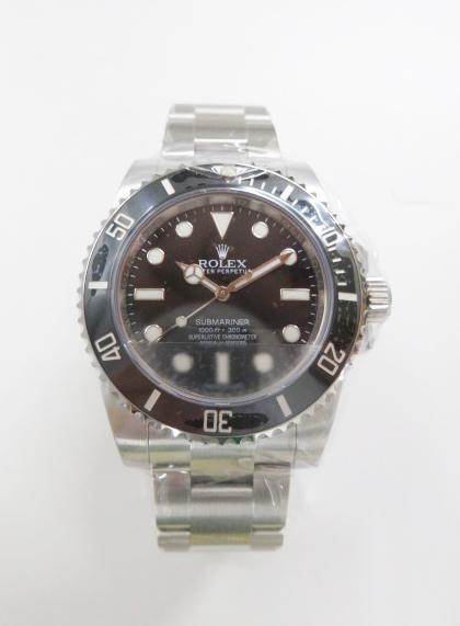 ロレックス(ROLEX)サブマリーナ高価買取~114060型の時計~