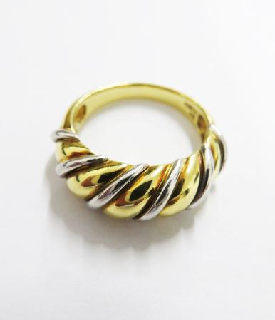 買取した18金とプラチナの指輪