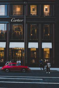 カルティエの店舗