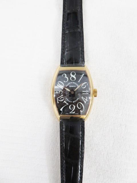 フランクミュラー(FRANCK MULLER)クレイジーアワーズ高価買取~7851CH型の時計~