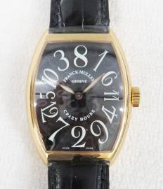 高価買取したフランクミュラーのクレイジーアワーズ7851CH型の時計