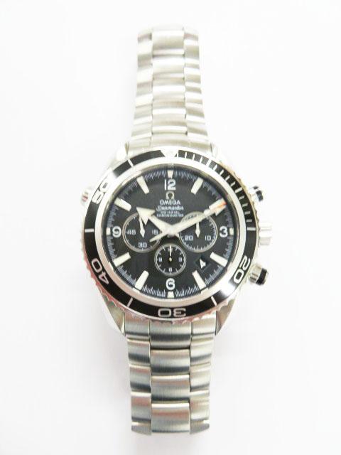 オメガ(OMEGA)シーマスター時計を高額買取~プラネットオーシャンクロノグラフ2210.50型~