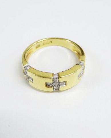 貴金属の買取ならお任せください~18金のダイヤ付きの指輪を買取いたしました~