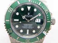 ロレックス サブマリーナ 116610LV SS ランダム番 緑文字盤