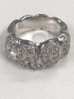 ダイヤモンド付きリング Pt900 D0.5ct