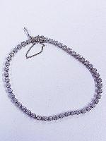 ダイヤモンド付きブレスレット K18WG D3.01ct