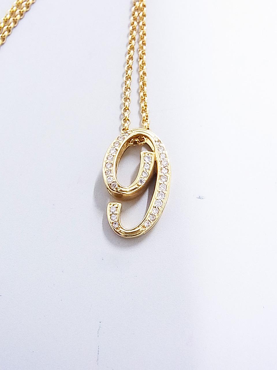 18金 ダイヤ付き ネックレス 買取